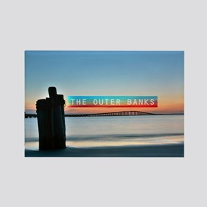 The Outer Banks. Rectangle Magnet