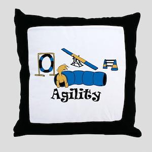 Agility Throw Pillow