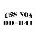 USS NOA 20x12 Wall Decal