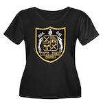 USS NOA Women's Plus Size Scoop Neck Dark T-Shirt