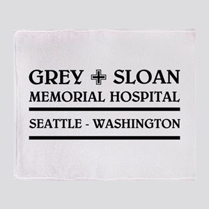 GREY SLOAN MEMORIAL HOSPITAL Throw Blanket