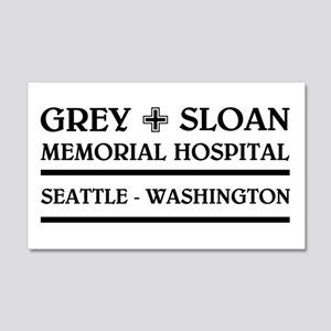 GREY SLOAN MEMORIAL HOSPITAL Wall Decal