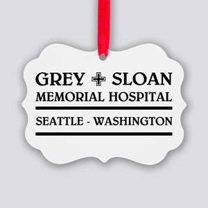 GREY SLOAN MEMORIAL HOSPITAL Ornament