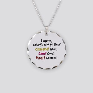 'What's Not To Like?' Necklace Circle Charm