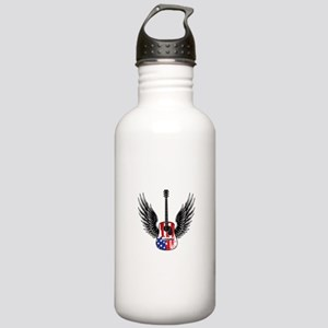 American Guitar Stainless Water Bottle 1.0L