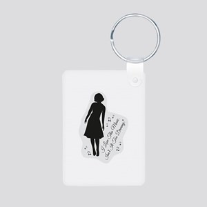 Isn't It Too Dreamy? Audre Aluminum Photo Keychain