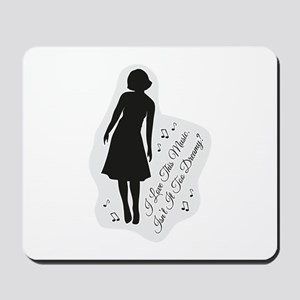 Isn't It Too Dreamy? Audrey - Twin Peaks Mousepad