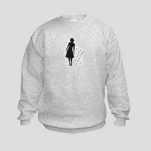 Isn't It Too Dreamy? Audrey - Twin Kids Sweatshirt