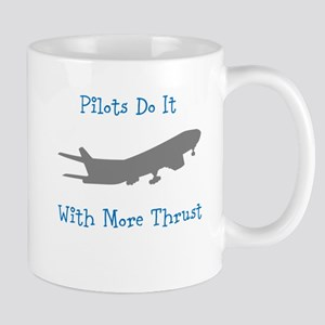 pilots do it with more thrust Mugs