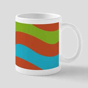 Summer Blue Wave Mugs