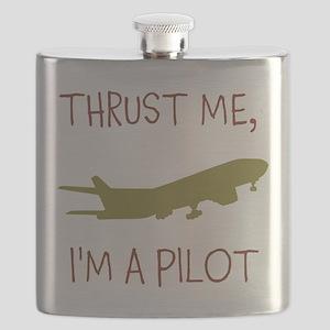 Thrust Me, Im A Pilot Flask