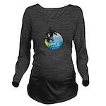 JTshirt2 Long Sleeve Maternity T-Shirt