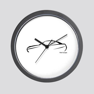 Fiat Coupe Wall Clock