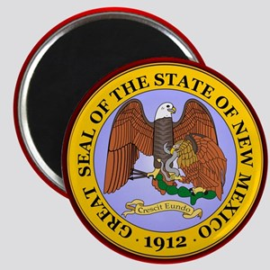 New Mexico Seal Magnets