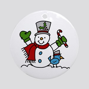 Christmas Hugs Ornament (Round)