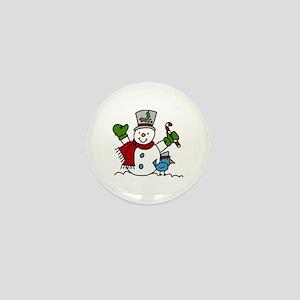 Christmas Hugs Mini Button