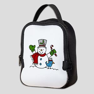 Christmas Hugs Neoprene Lunch Bag
