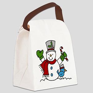 Christmas Hugs Canvas Lunch Bag