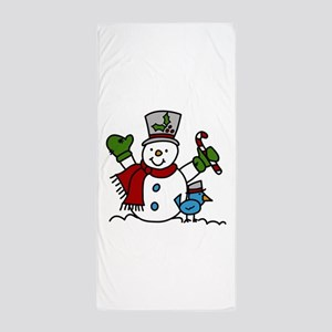Christmas Hugs Beach Towel