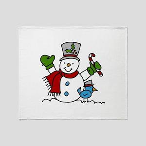 Christmas Hugs Throw Blanket