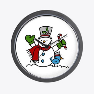 Christmas Hugs Wall Clock