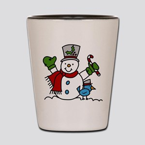 Christmas Hugs Shot Glass