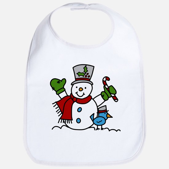 Christmas Hugs Bib