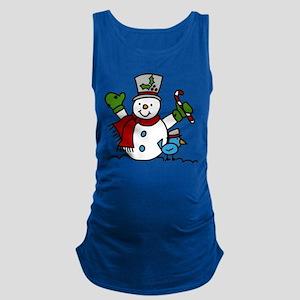 Christmas Hugs Maternity Tank Top