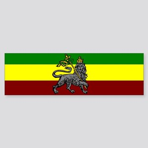 Rastafarian Flag Bumper Sticker