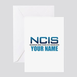 Customized NCIS TV Logo Greeting Card