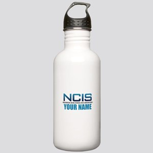Customized NCIS TV Log Stainless Water Bottle 1.0L