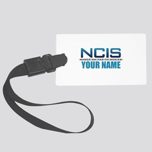 Customized NCIS TV Logo Large Luggage Tag