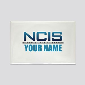 Customized NCIS TV Logo Rectangle Magnet