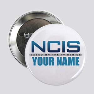"Customized NCIS TV Logo 2.25"" Button"