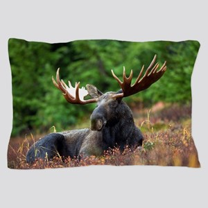 Majestic Moose Pillow Case