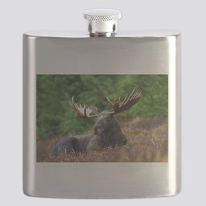 Majestic Moose Flask