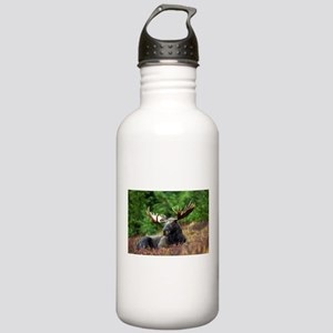 Majestic Moose Water Bottle