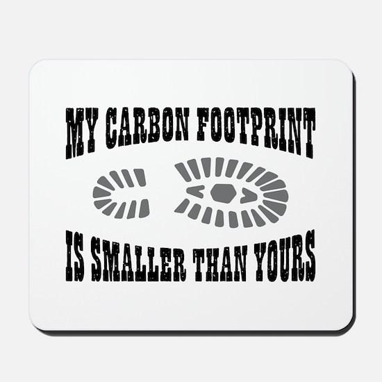 Carbon Footprint Mousepad
