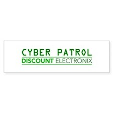 Cyber Patrol Bumper Sticker