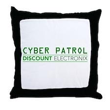Cyber Patrol Throw Pillow