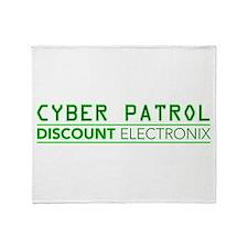 Cyber Patrol Throw Blanket