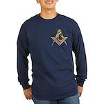 Masonic Junior Deacon Long Sleeve Dark T-Shirt