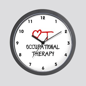 Occupational Therapy Heart Wall Clock