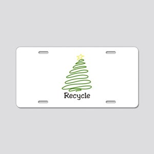 Recycle Aluminum License Plate
