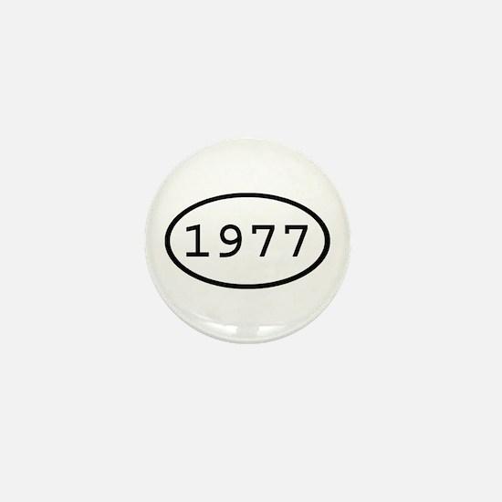 1977 Oval Mini Button