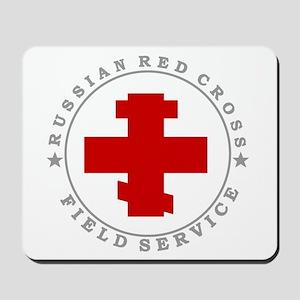 Russian Red Cross Mousepad