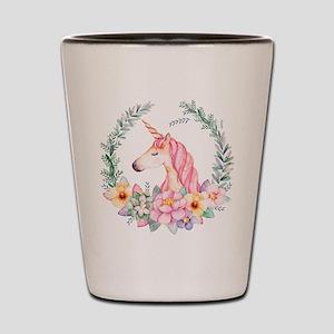 Pink Unicorn Shot Glass