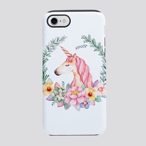 Pink Unicorn iPhone 7 Tough Case
