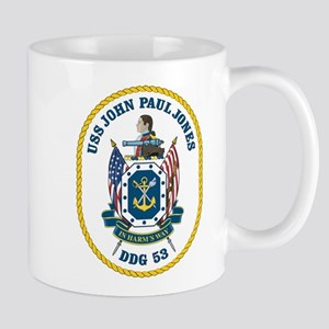 USS John Paul Jones DDG-53 Mugs
