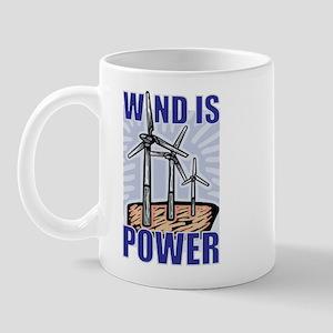 Wind Is Power Mug